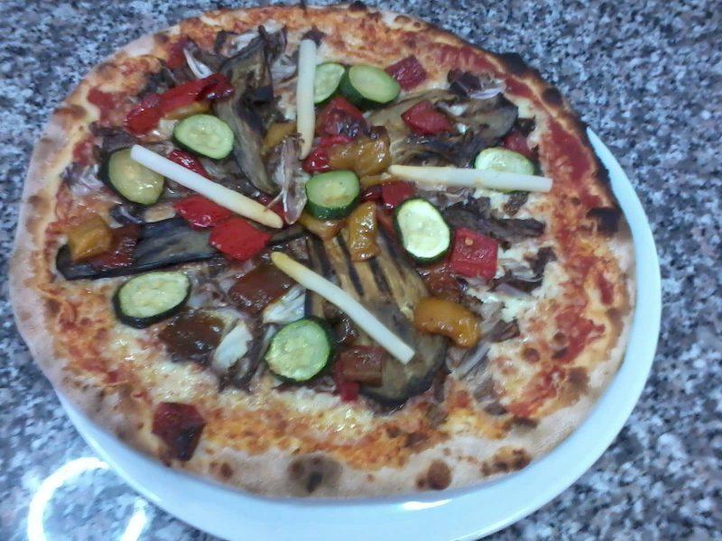 Specialità:  Pizza Ortolana