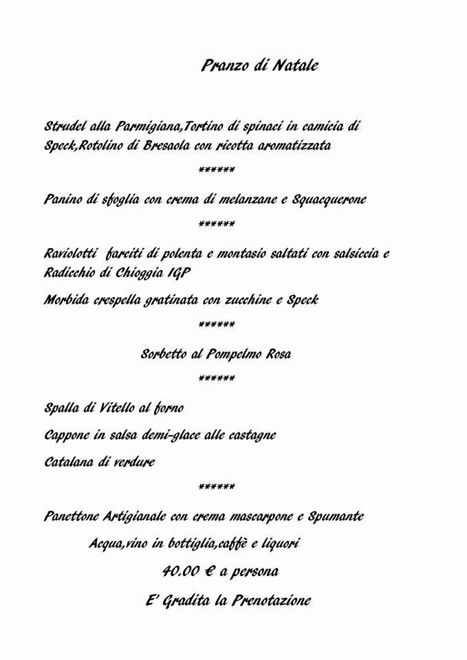 Pranzo Di Natale 2017 Sottomarina Ristorante Pizzeria Minerva